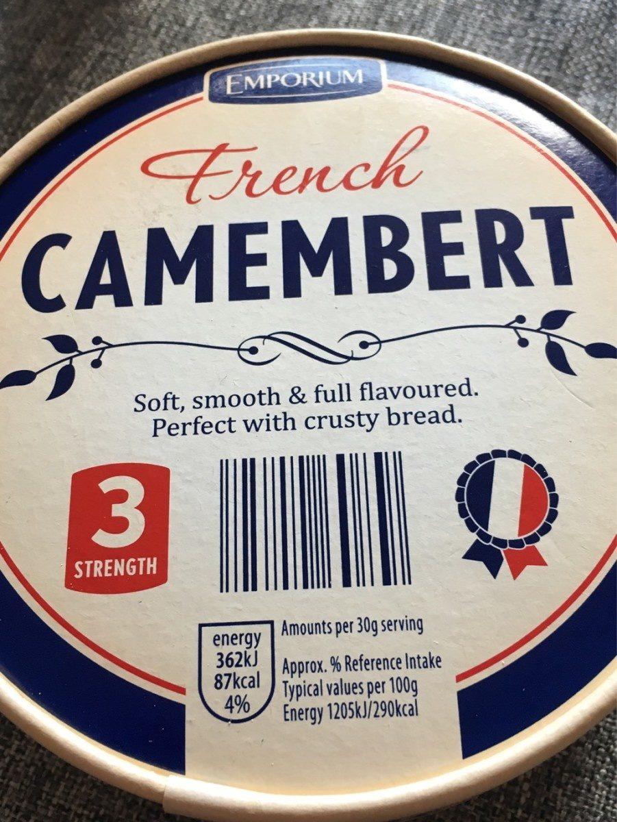 French Camembert - Produit - fr