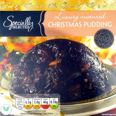 Luxury Matured Christmas Pudding - Product - en