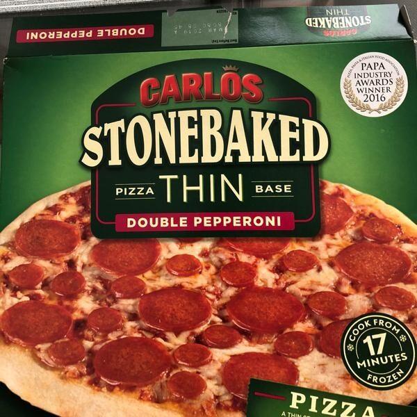 Pizza double pepperoni - Produit - en