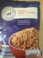 Tomato & sweet pepper risotto - Produit - en