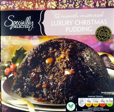 12 months Matured Luxury Christmas Pudding - Product - en