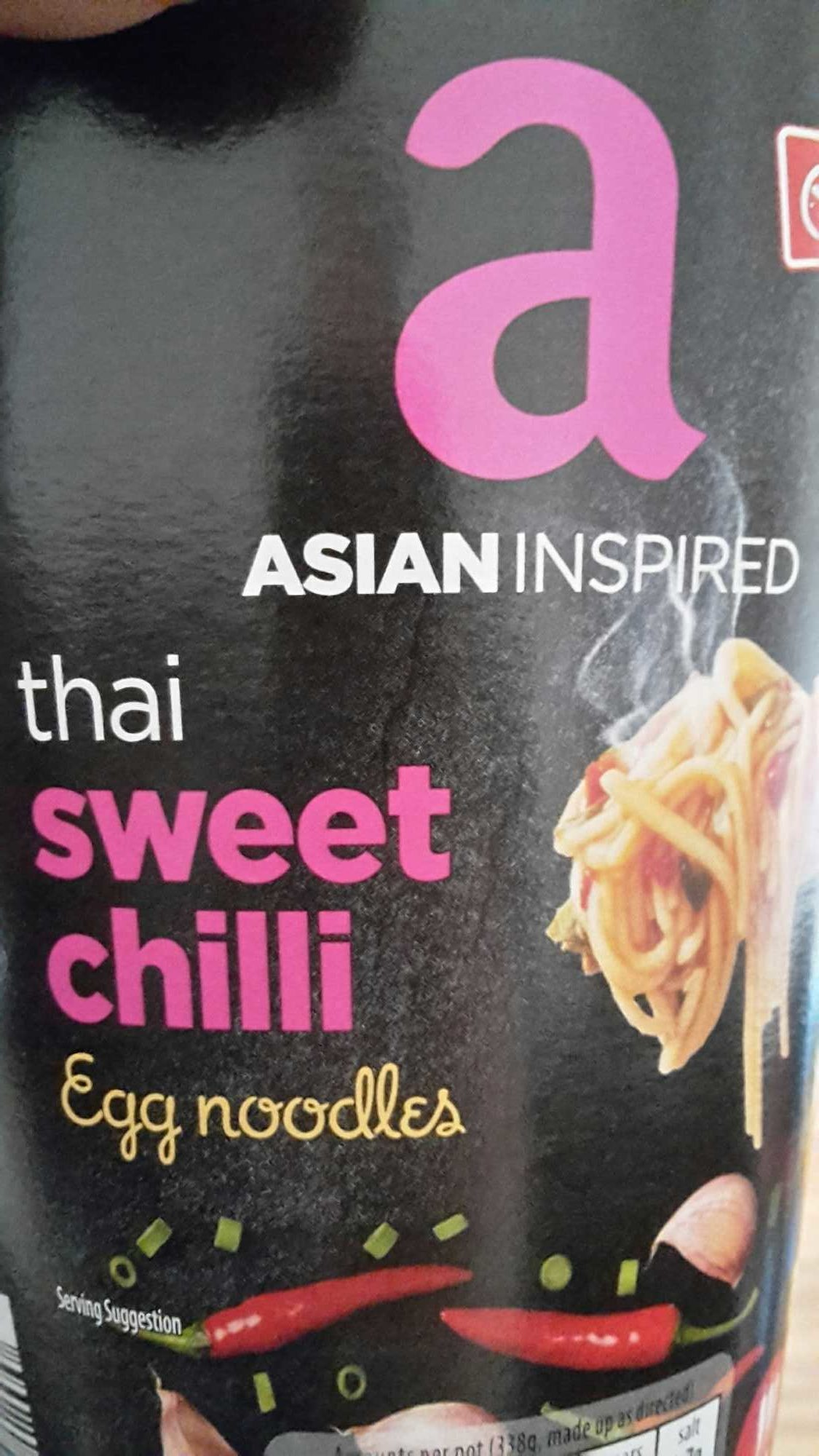 Asian noodles nutrition apologise