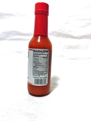 Habanero Pepper Sauce - Nutrition facts - en