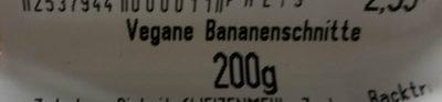 Vegane Bananenschnitte - Product