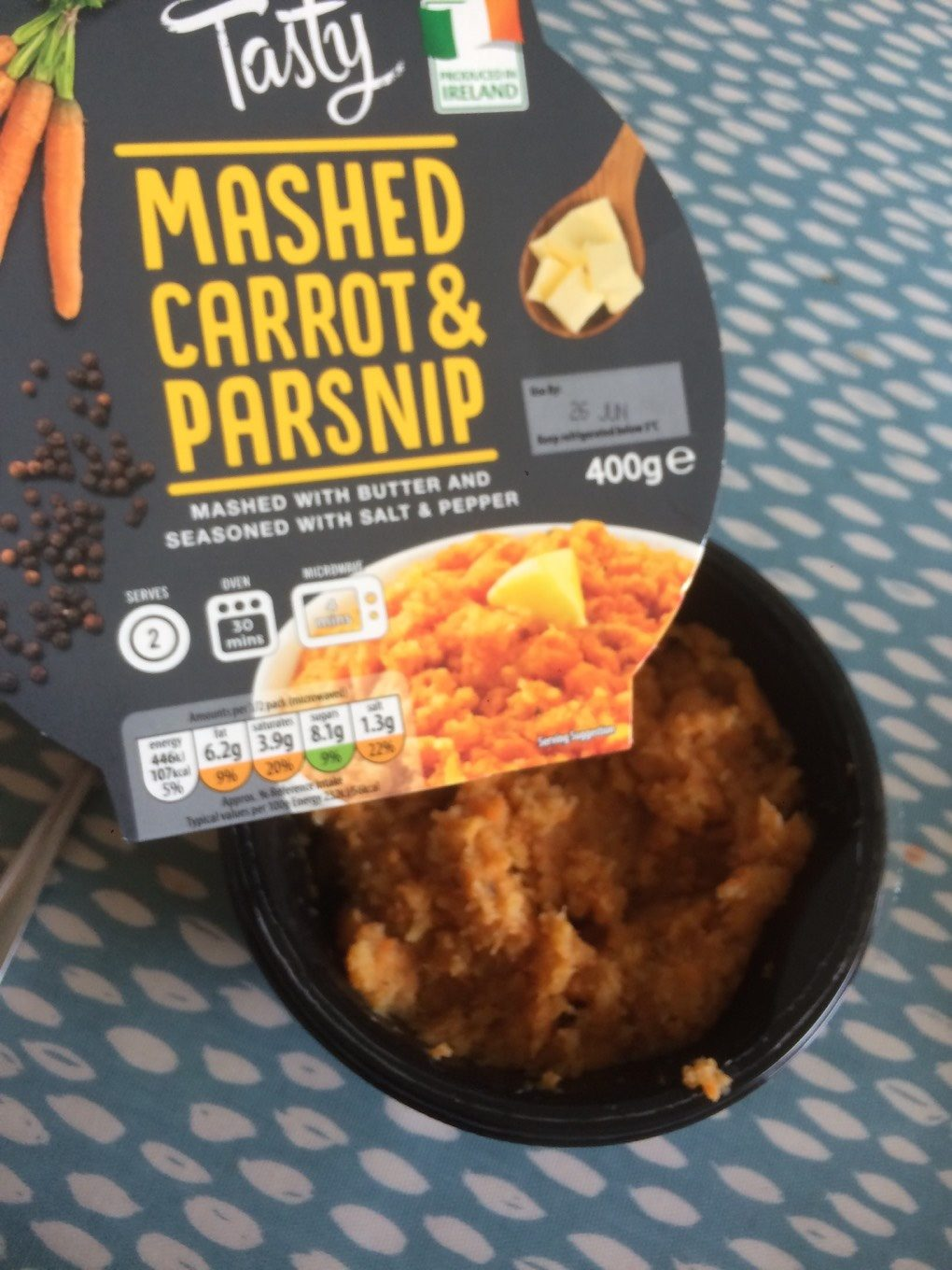 Mashed Carrot & Parsnip - Product