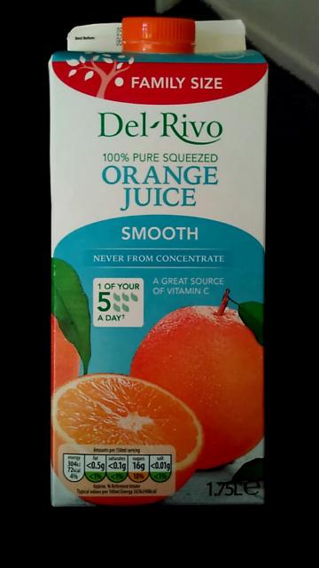 Del-Rivo Orange Juice NFC - Produit - en