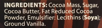 Moser Roth Dominican Republic 75% - Ingredients - en