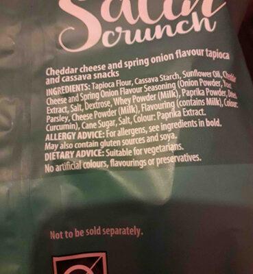 sarin crunch aldi - Ingrédients - en