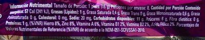 Galletas Sponch Marinela - Voedingswaarden - es