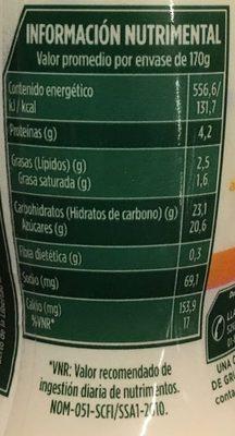 Activia Semillas Selectas Danone - Voedingswaarden - es