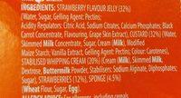 trifle strawberry - Ingredients - en