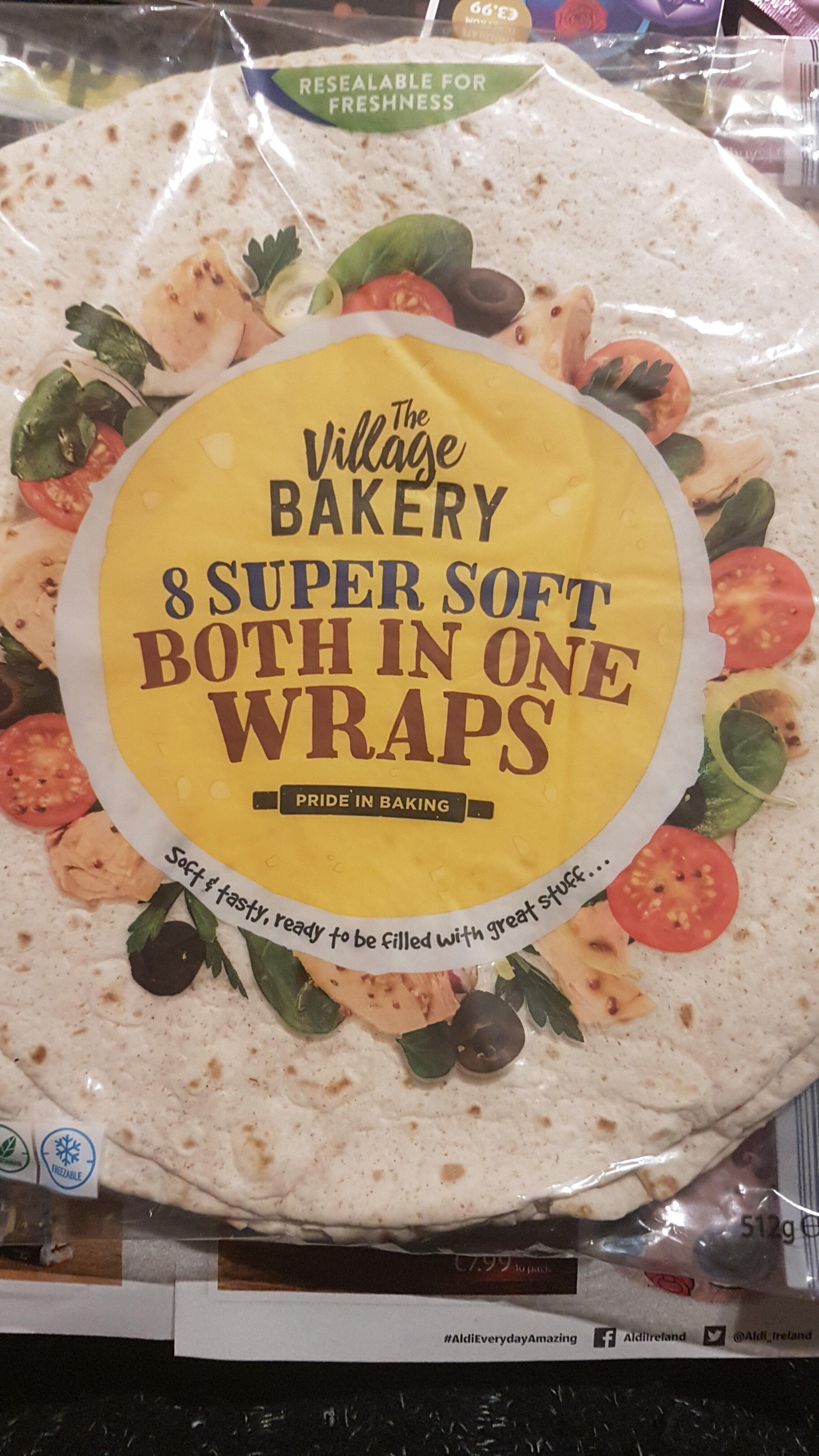Super Soft Both in One Wraps - Produit - en