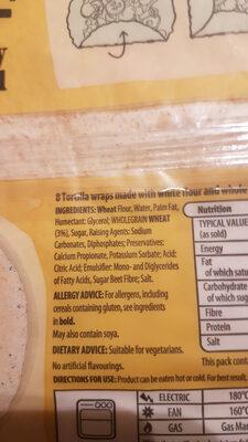 Super Soft Both in One Wraps - Ingredients - en