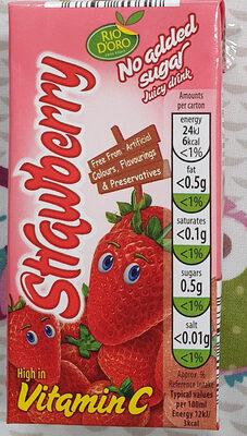 strawberry juice - Product - en