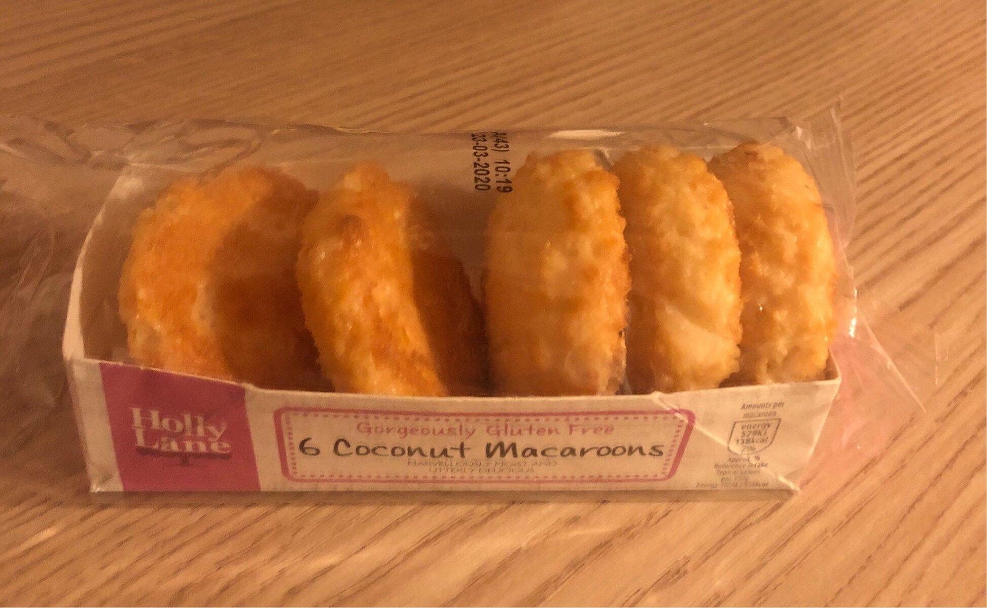 6 Coconut Macaroons - Produit - en
