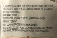 Gnocchi pesto - Ingredients