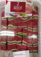 7 brochettes de bœuf - Produit - fr