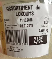 Assortiment de loukoums - Product