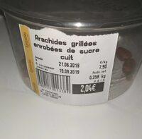 Arachides grillées enrobées de sucre cuit - Product - fr