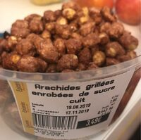 Arachides grillees enrobees de sucre cuit - Product - fr