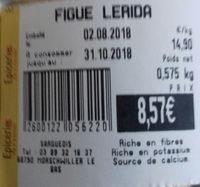 figue Lerida - Produit