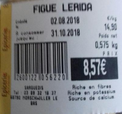 figue Lerida - Product