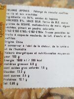 Mélange japonais - Voedingswaarden - fr