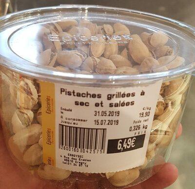 Pistaches grillées à sec et salées - Produit - fr