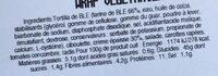 Wrap végétarien - Ingrediënten - fr