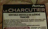 Véritable andouille de guéméné tranchée - Ingrediënten