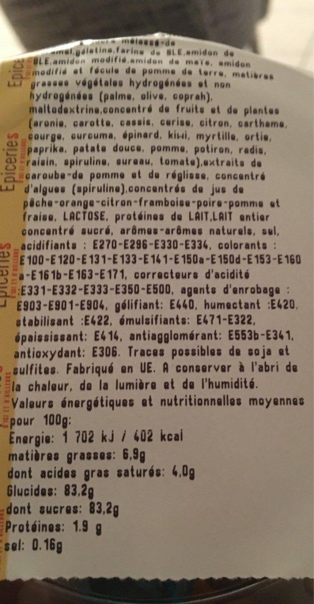 Confiserie Sans Marque 188 G - Ingredients