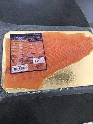 Saumon de norvége fumé - Product - fr