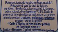 Surimi léger 0% - Ingrédients - fr