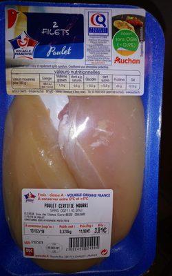 2 filets Poulet - Ingrédients