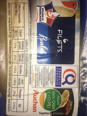 6 filets Poulet - 2