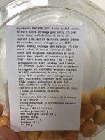 Mélange de biscuits soufflés aux arachides - Ingrédients - fr