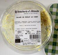 Salade de poulet au curry - Product - fr