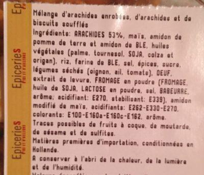 Mélange mexicain - Ingrédients