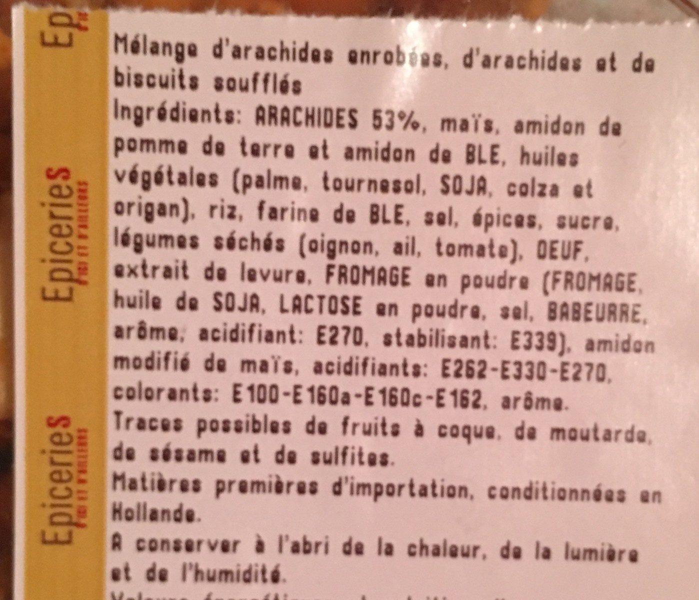 Mélange mexicain - Ingrédients - fr