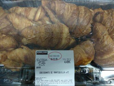 Croissants de mantequilla x12 - Product