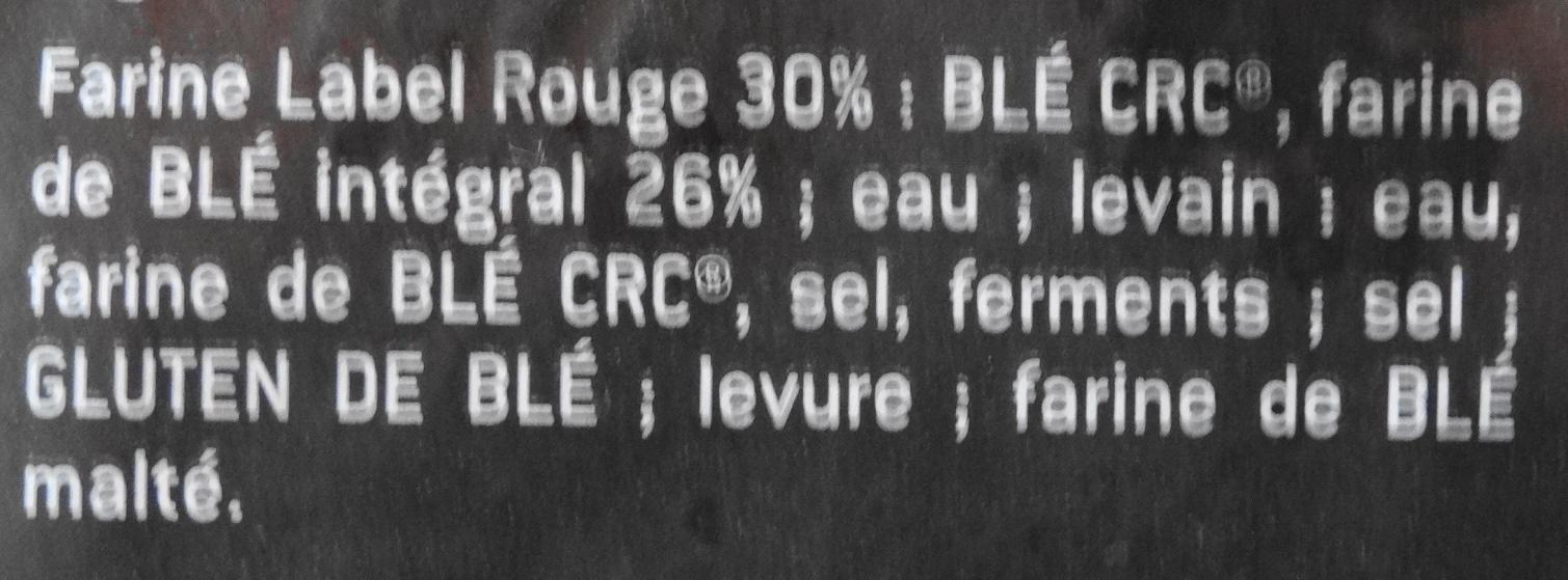 Pérènes Complet - Ingredienti - fr