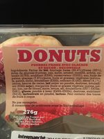 Donuts fraise - Product