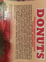 Donuts fraise - Ingredients