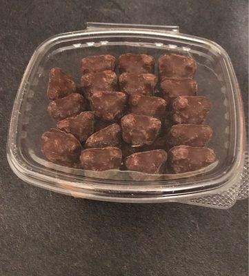 Guimauve fantaisie enrobée de chocolat au lait - Product - fr