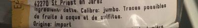 Datte medjoul - Ingrédients - fr