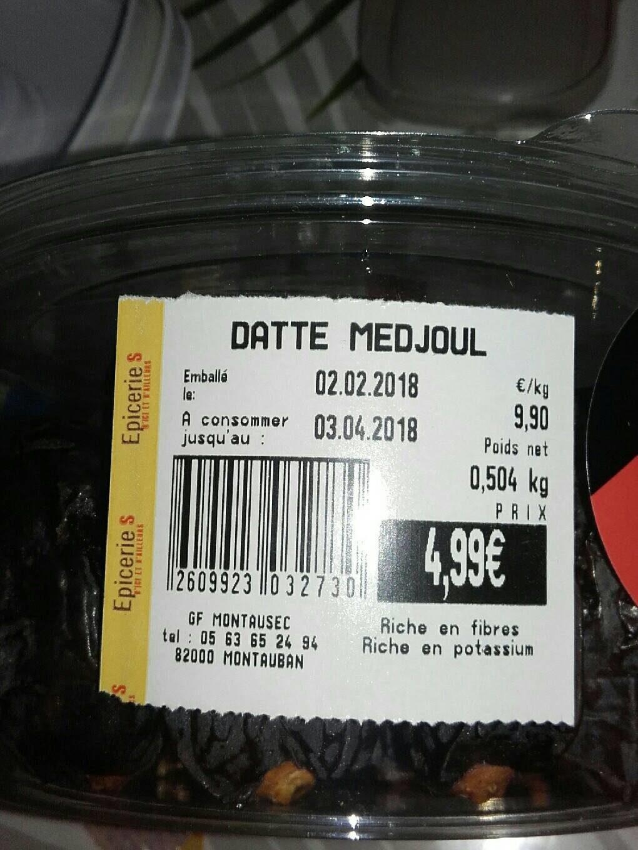 Dattes Medjoul - Product - fr