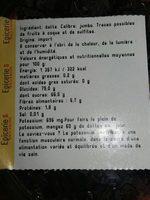 Dattes Medjoul - Ingrediënten - fr