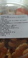 Cernaux de noix - Informations nutritionnelles - fr
