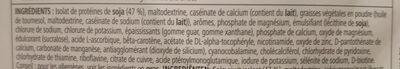Mélange pour boisson protéinée - Ingredienti - fr