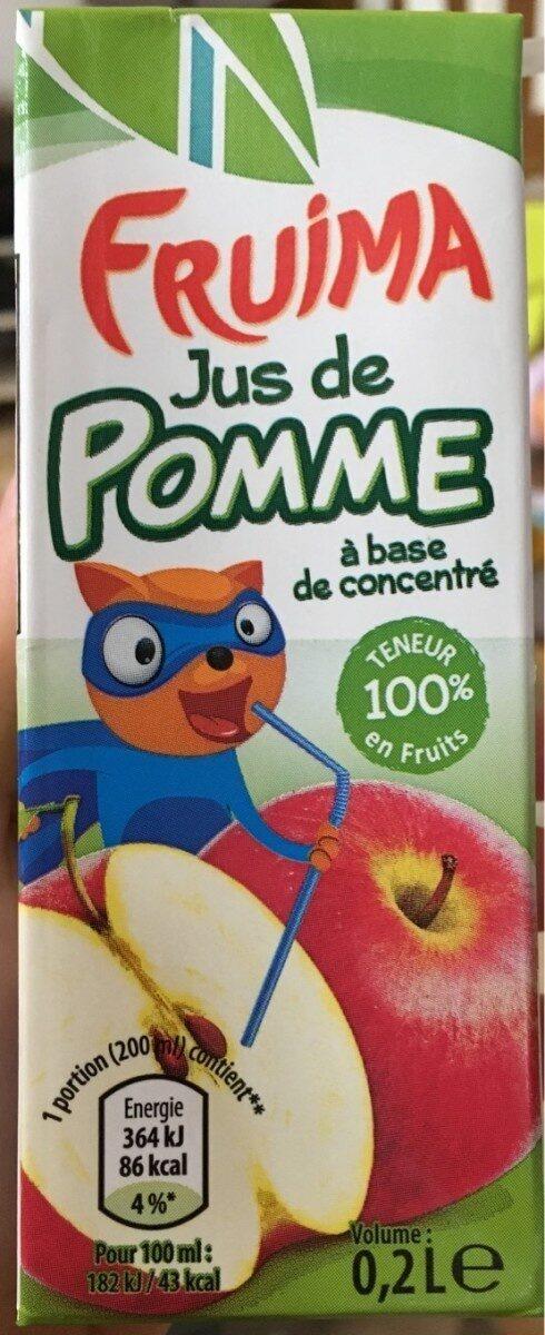 Jus de Pomme à base de concentré - Product - nl